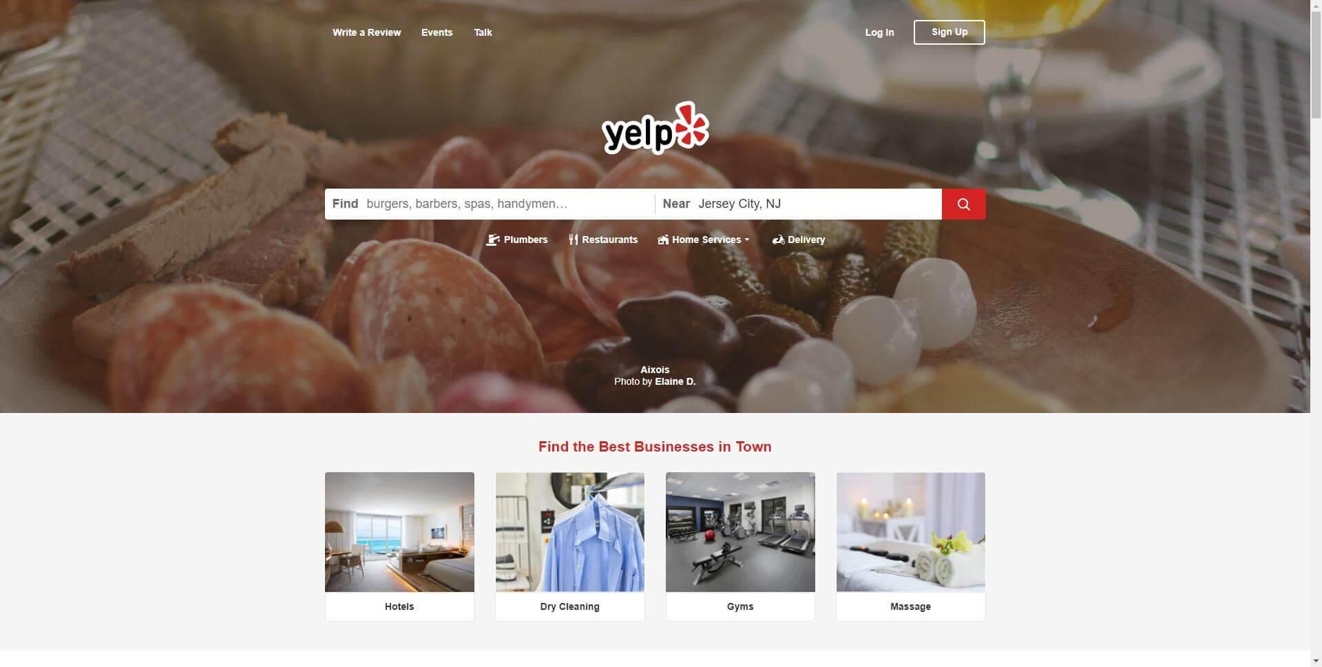 Yelp directory