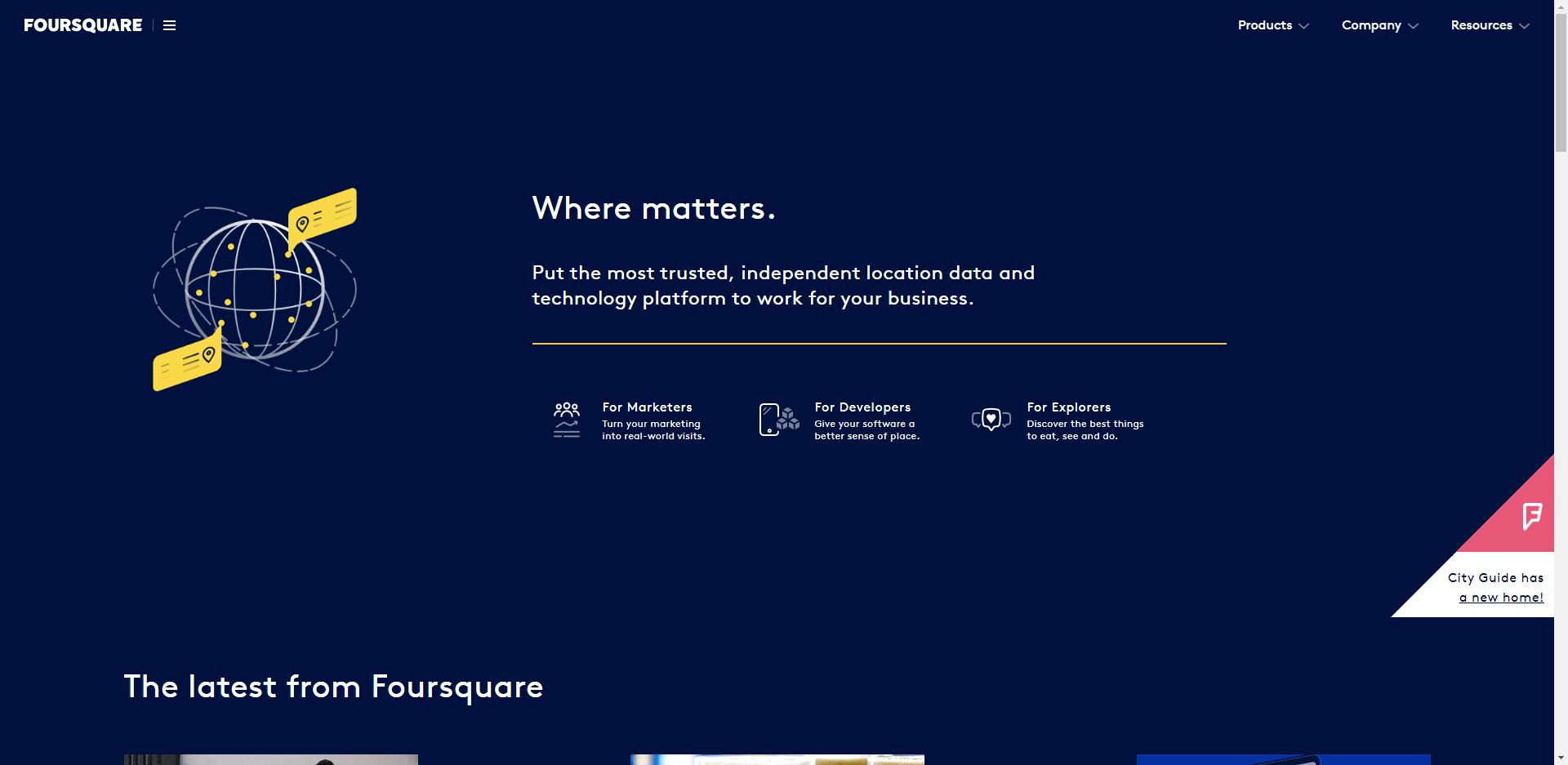 forsquare directory