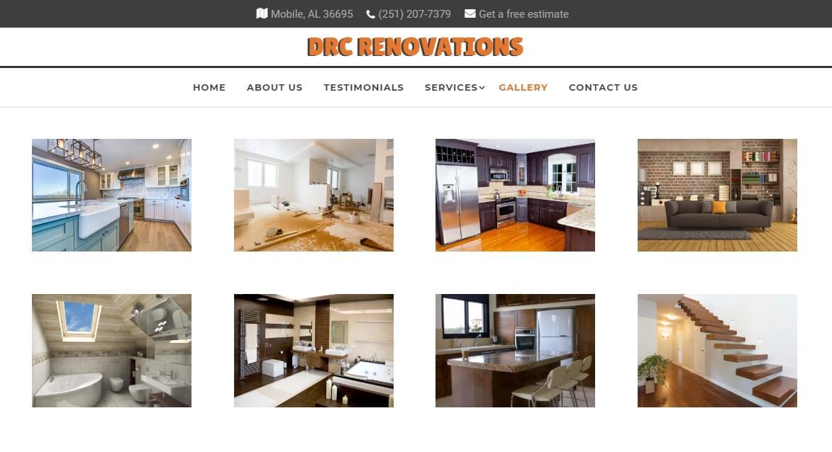 remodeling website