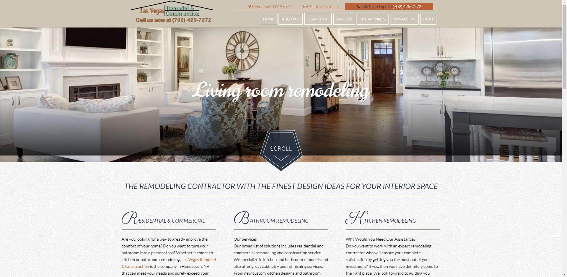 remodeling website